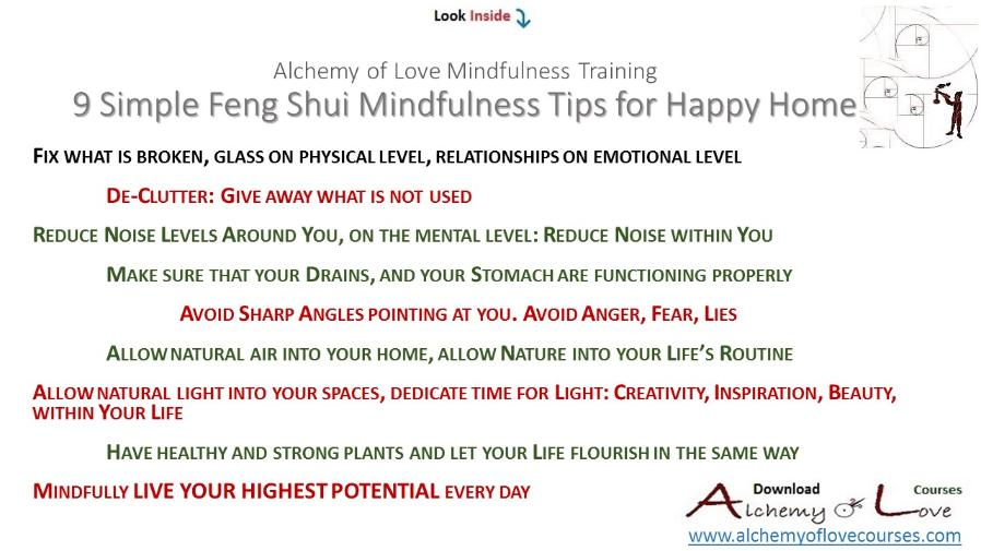 9 simple feng shui mindfulness tips for happy home