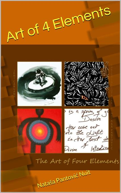 Art of 4 Elements spiritual poetry book