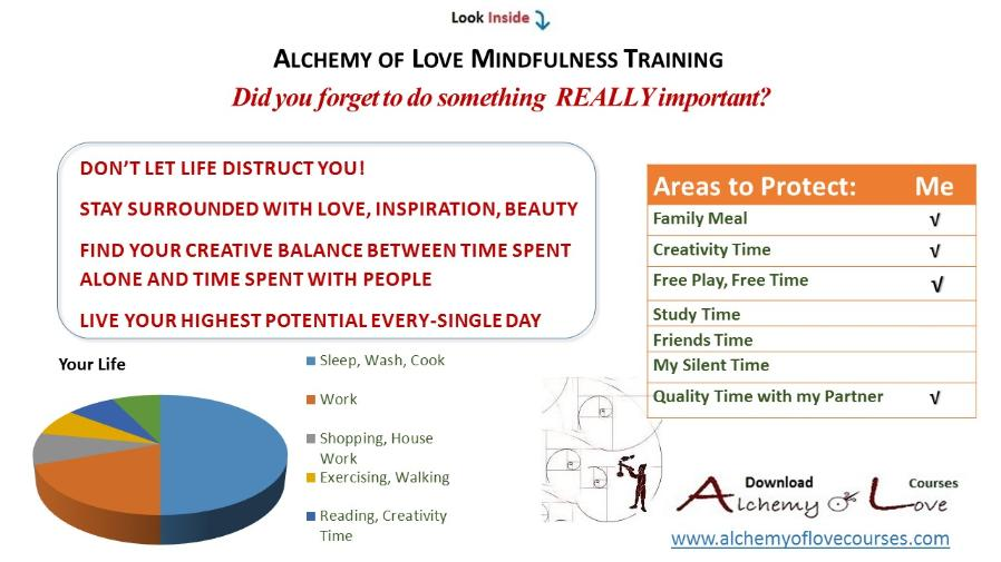 alchemy of love mindfulness exercises circle of life